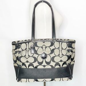 Large Multifunctional Coach Tote.